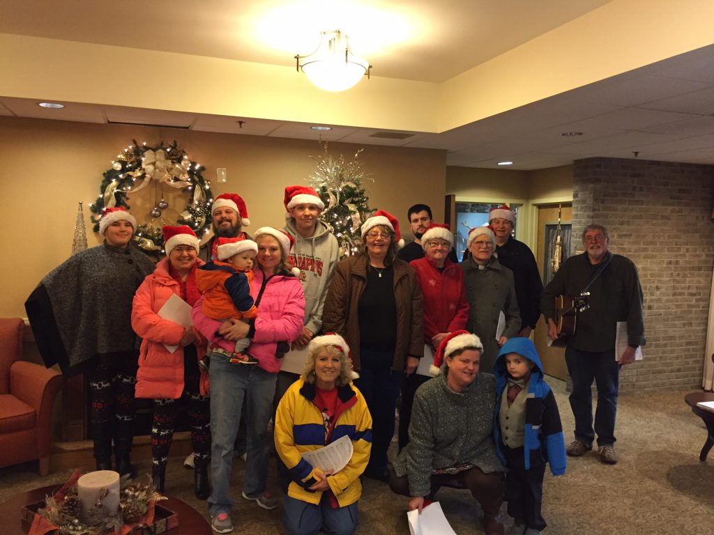Beaver Creek Lutheran Parish Caroling - 2016